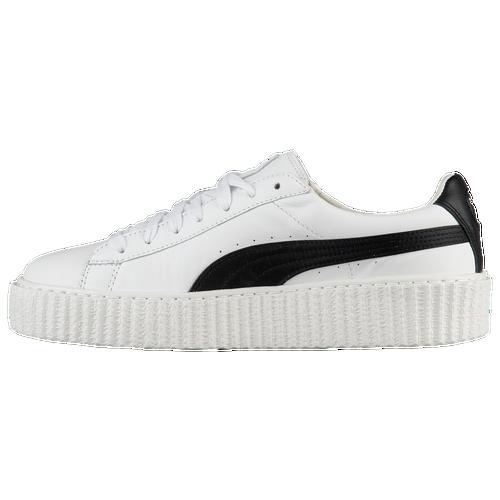 puma fenty creeper women 39 s casual shoes white. Black Bedroom Furniture Sets. Home Design Ideas