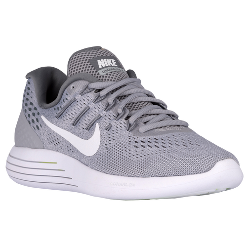 ... Nike LunarGlide 8 - Women\u0026#39;s - Grey / White