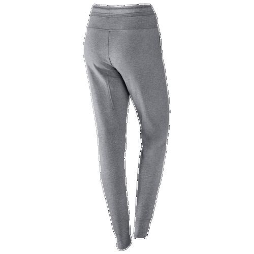 Unique New Women Nike Gray Tech Fleece Joggers Sweat Pants Size Large