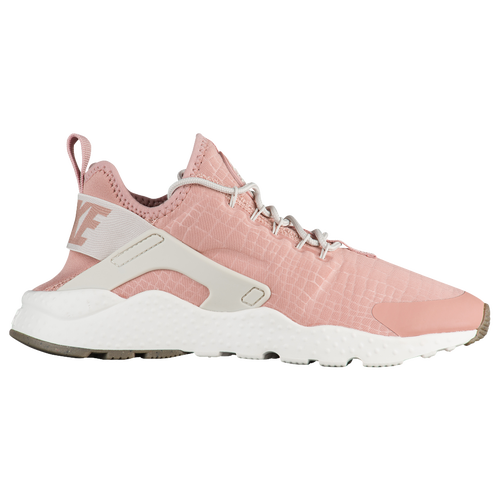 pretty nice 51c29 45051 womens pink and white nike huarache sneakers