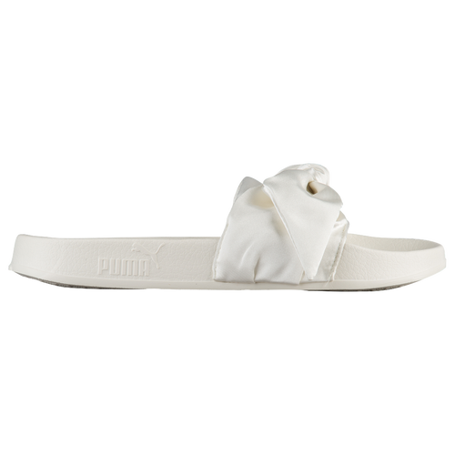 PUMA Fenty Bow Slide - Women's Casual - Marshmallow/Silver 36577402