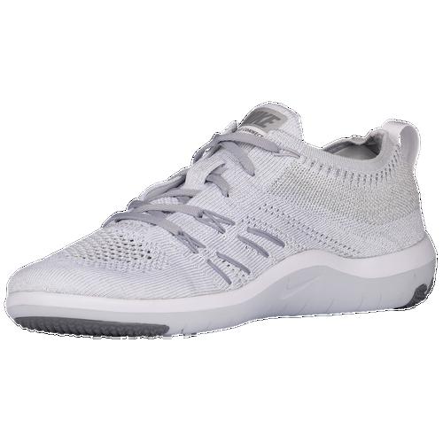 f079872b5a0a8 ... Nike Free TR Focus Flyknit - Women s - White   Grey