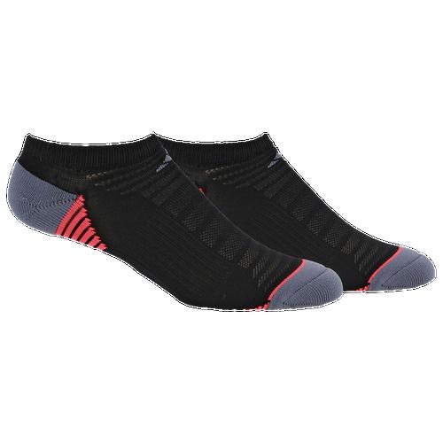 ... adidas Superlite Speed Mesh 2 Pack No Show - Women\u0027s - Black / Grey