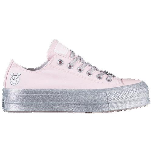 c0b737d50a96e5 Converse x Miley Cyrus All Star Lift Ox - Women s - Pink   Silver