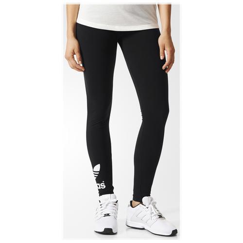 21bf7a517c5 ... adidas Originals Trefoil Leggings - Women's - Black / White
