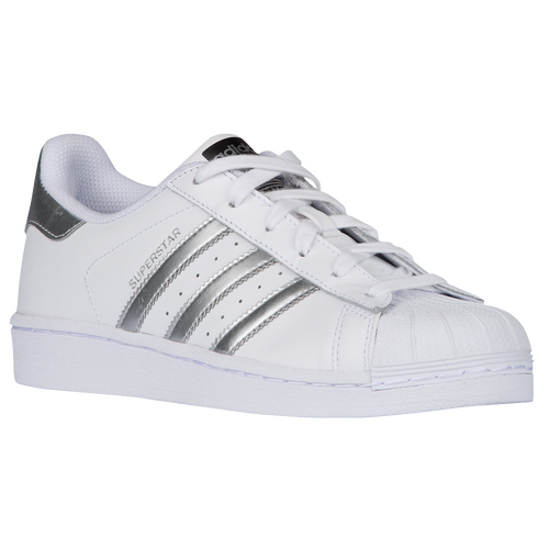 ... adidas Originals Superstar - Women\u0027s - White / Silver