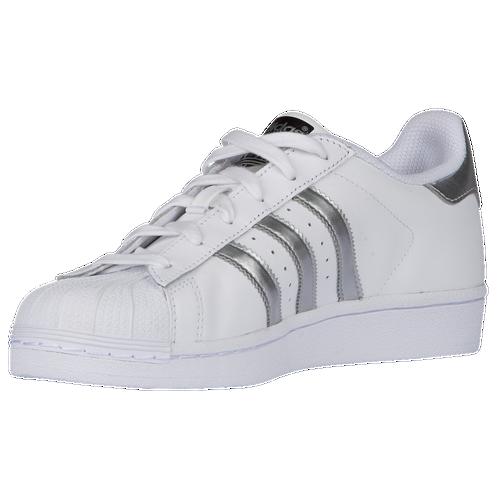 ... adidas Originals Superstar - Women\u0027s - White / Silver