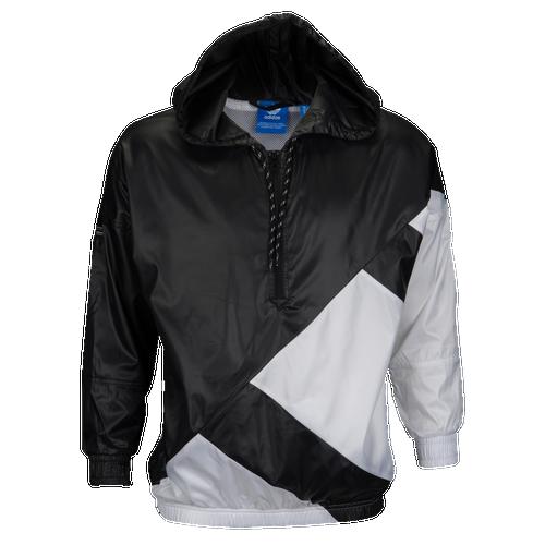 ... adidas Originals EQT Windbreaker - Women s - Black   White ec2844ec0fa