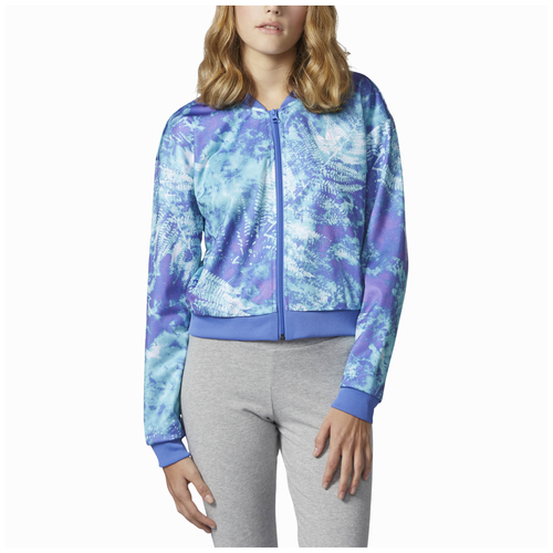 ... adidas Originals Ocean Elements Crop Track Top - Womenu0027s - Blue / Light Blue  sc 1 st  Six02 & Tops Jackets u0026 Layers adidas Originals | SIX:02 azcodes.com