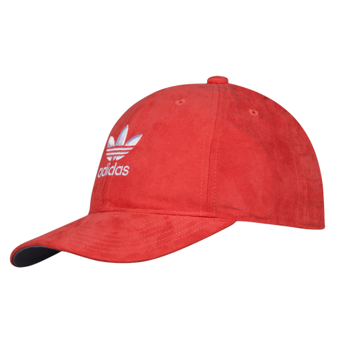 adidas Originals Suede Relaxed Strapback Hat - Women s - Accessories a85d957cb68