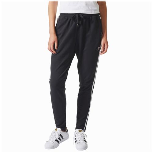 adidas Originals Bold Age 3-Stripe Pants - Women's - Black / White